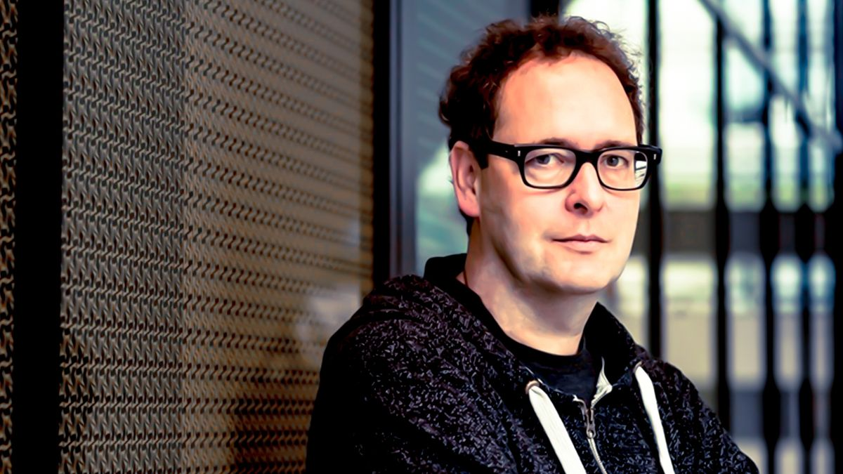 Ein Portrait des Schriftstellers Thomas Lang
