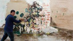 Der mongolische Maler Dashdemed Sampil | Bild:Dashdemed Sampil