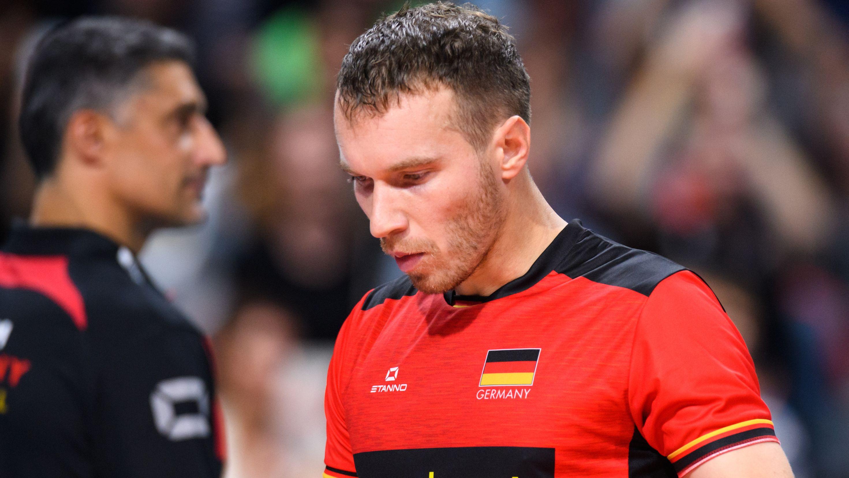 Der deutsche Nationalspieler Denys Kaliberda