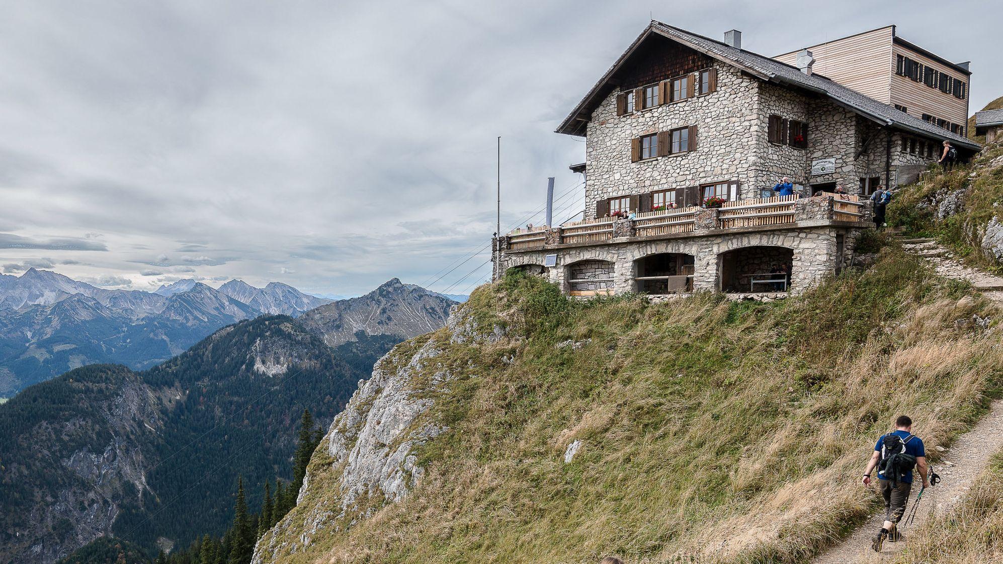 Bad Kissinger Hütte des DAV, Pfronten.