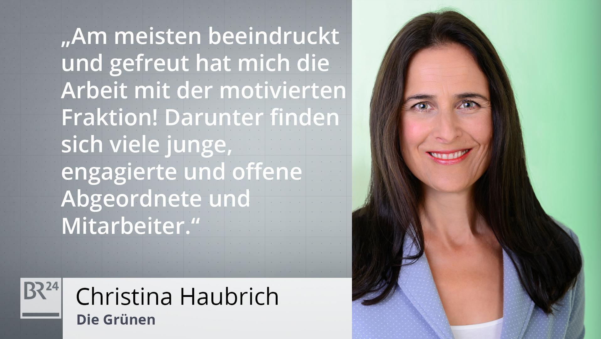 Potrait Christina Haubrich / Die Grünen