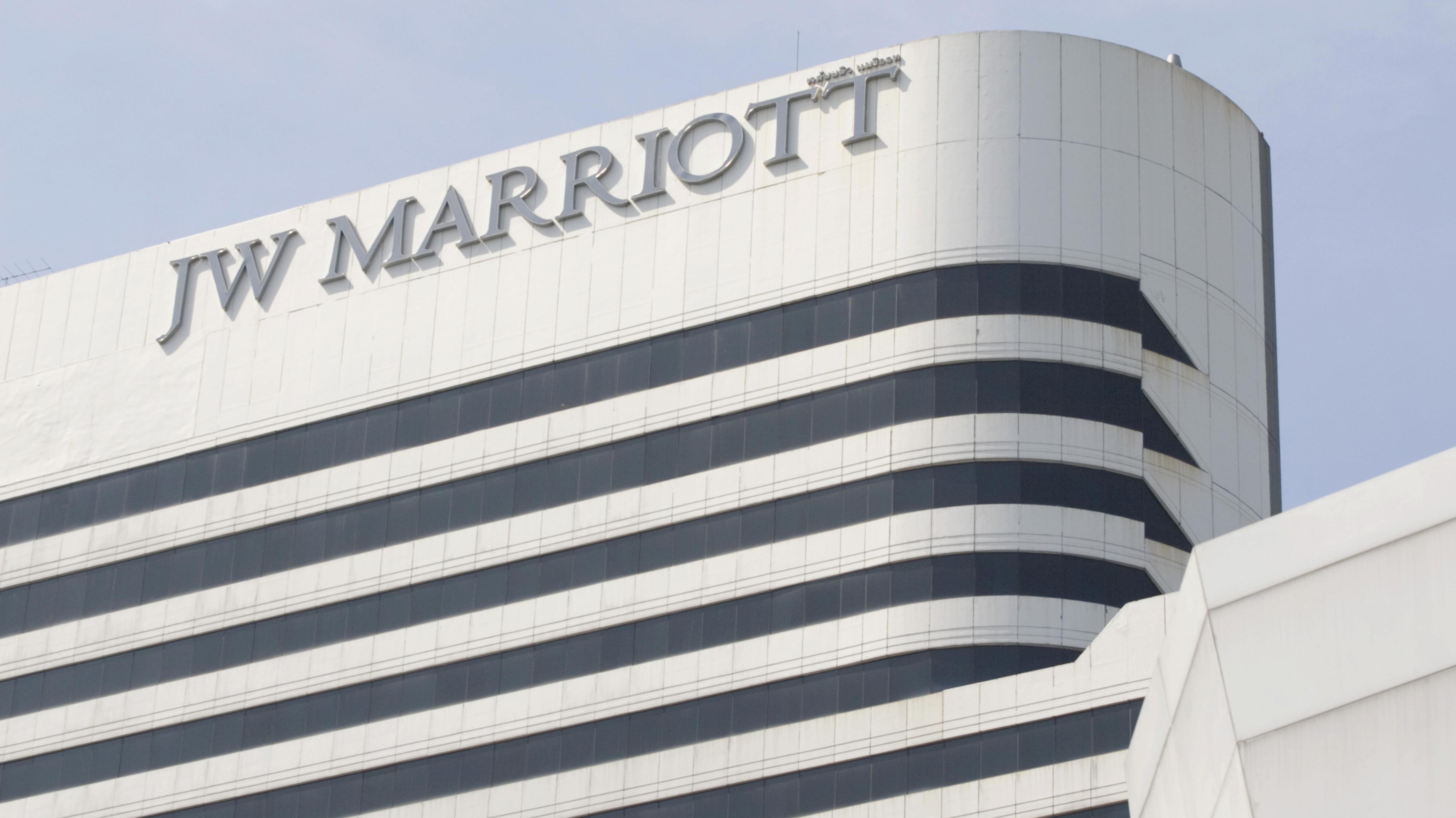 "Hotel ""JW Marriott"" in Bangkok, Thailand, Asien"