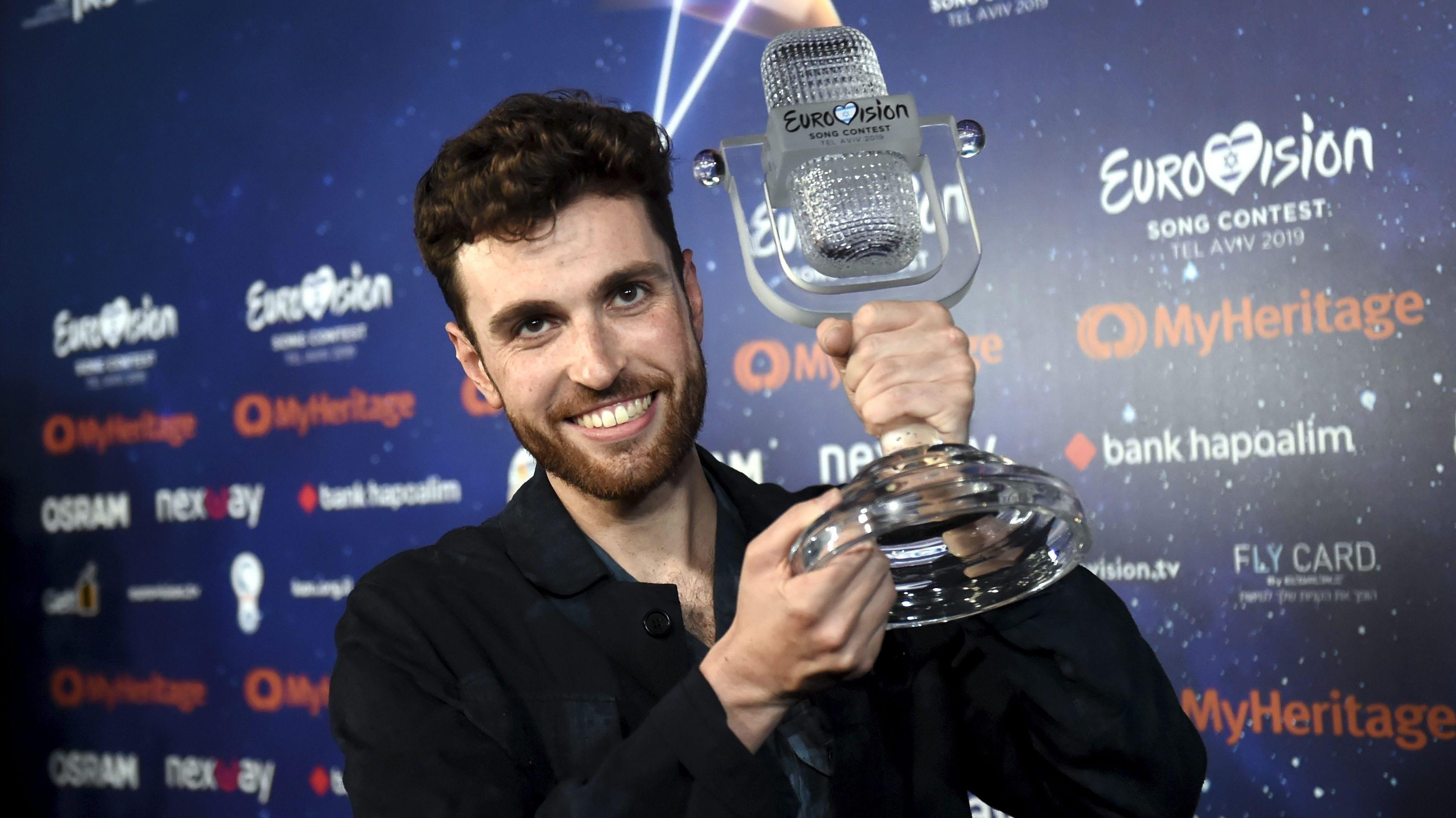 Duncan Laurence aus den Niederlanden, Gewinner des Eurovision Song Contest (ESC) 2019