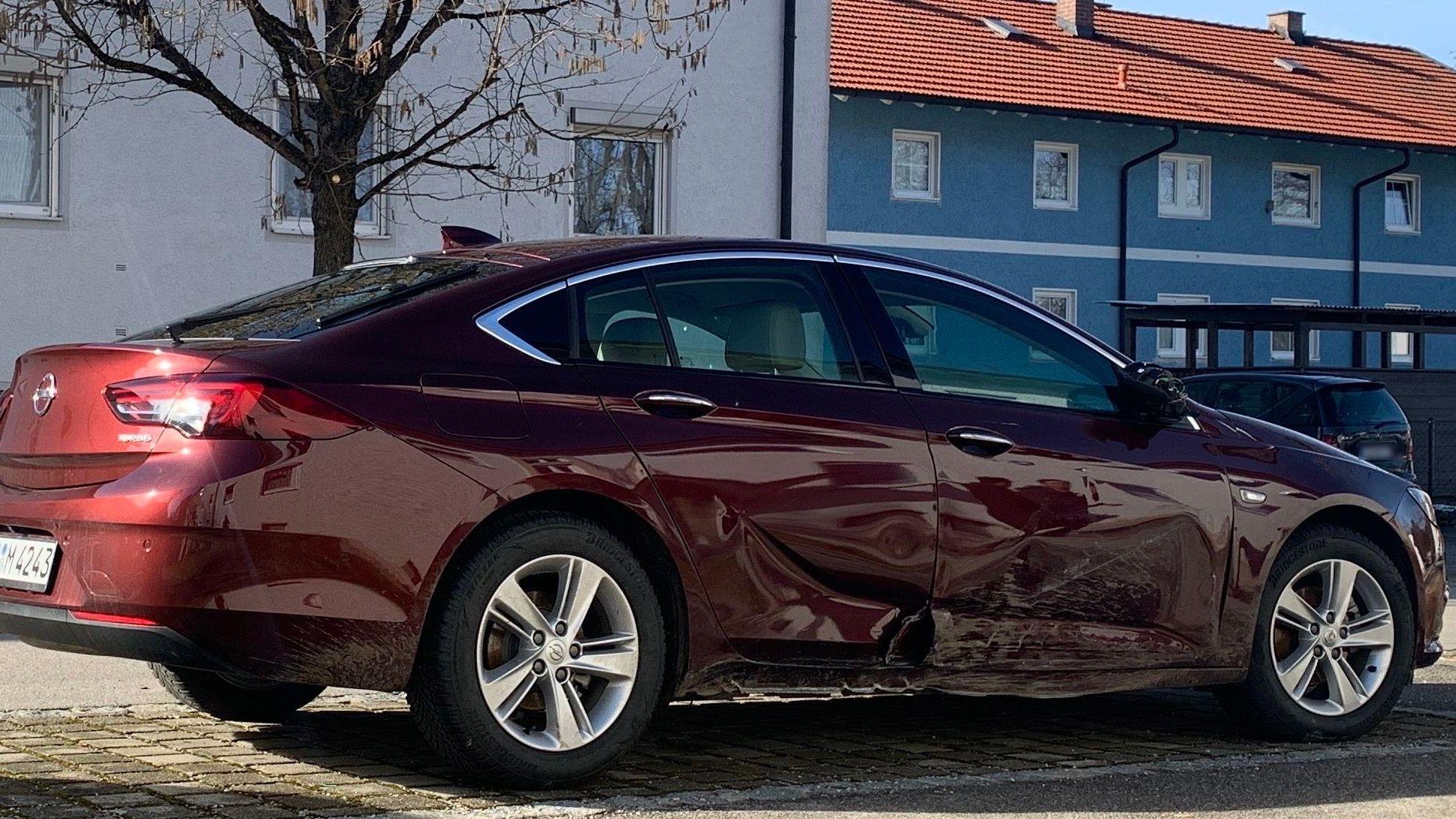 beschädigter Opel von vermisster Manuela Kramer