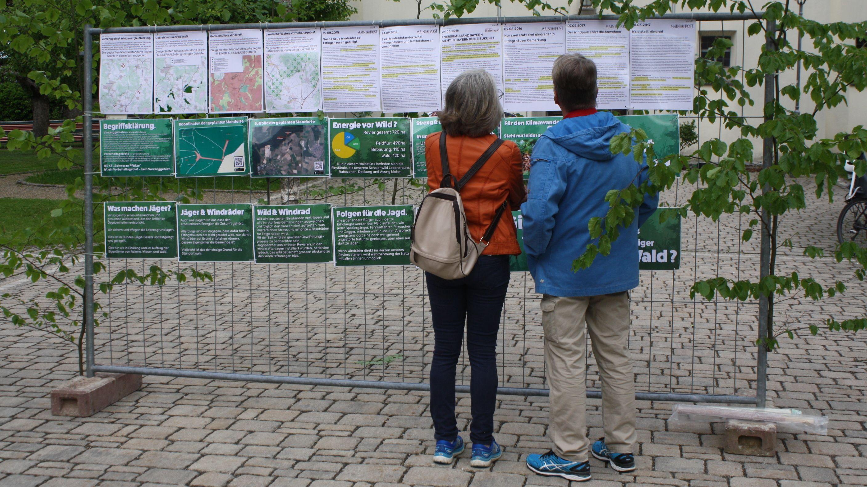 Info-Blätter zu den neuen Windkraftanlagen bei Eltingshausen