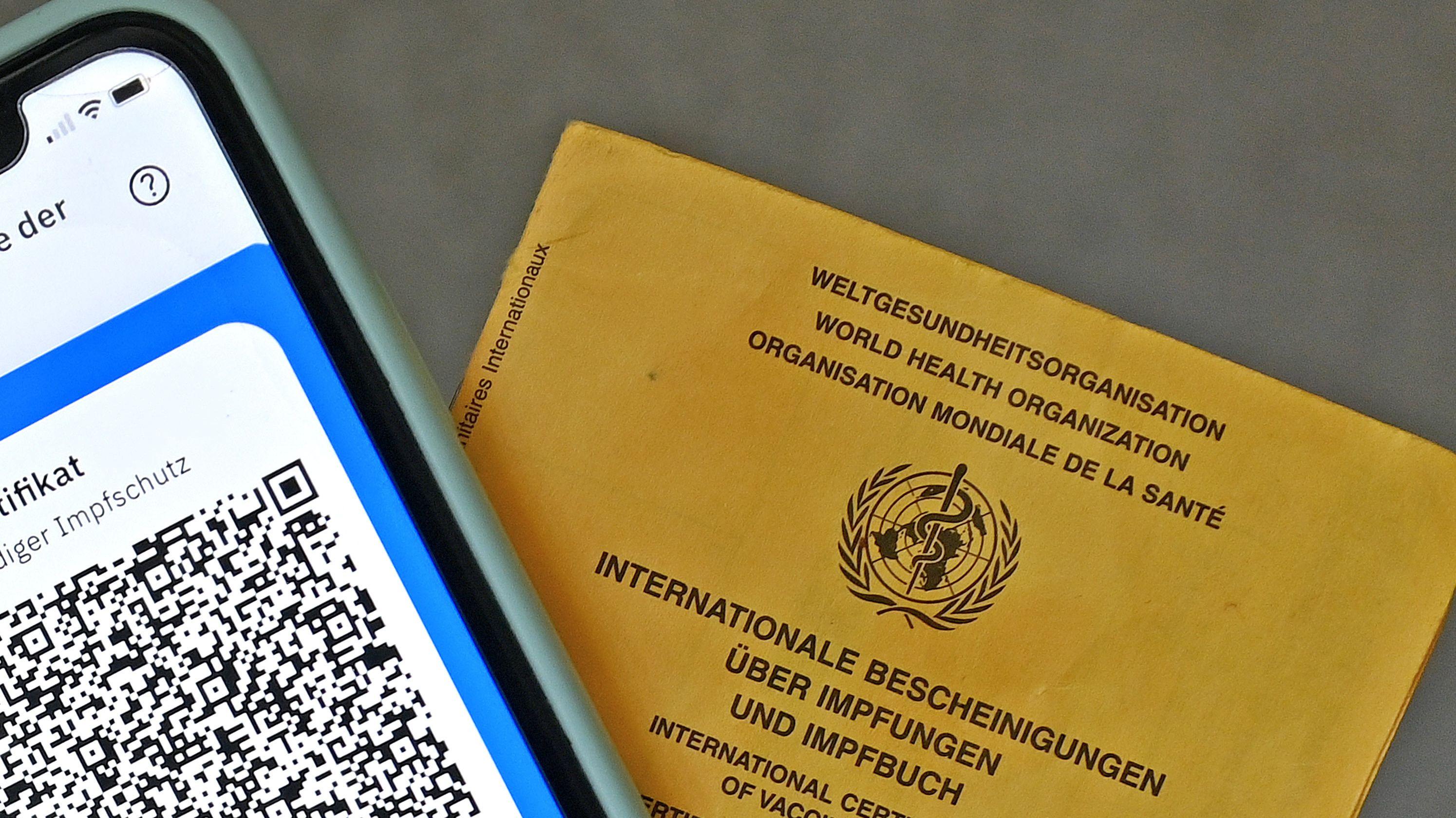 Digitaler Impfausweis / Gelbes Heftchen