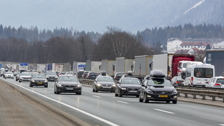 Autobahn bei Kufstein