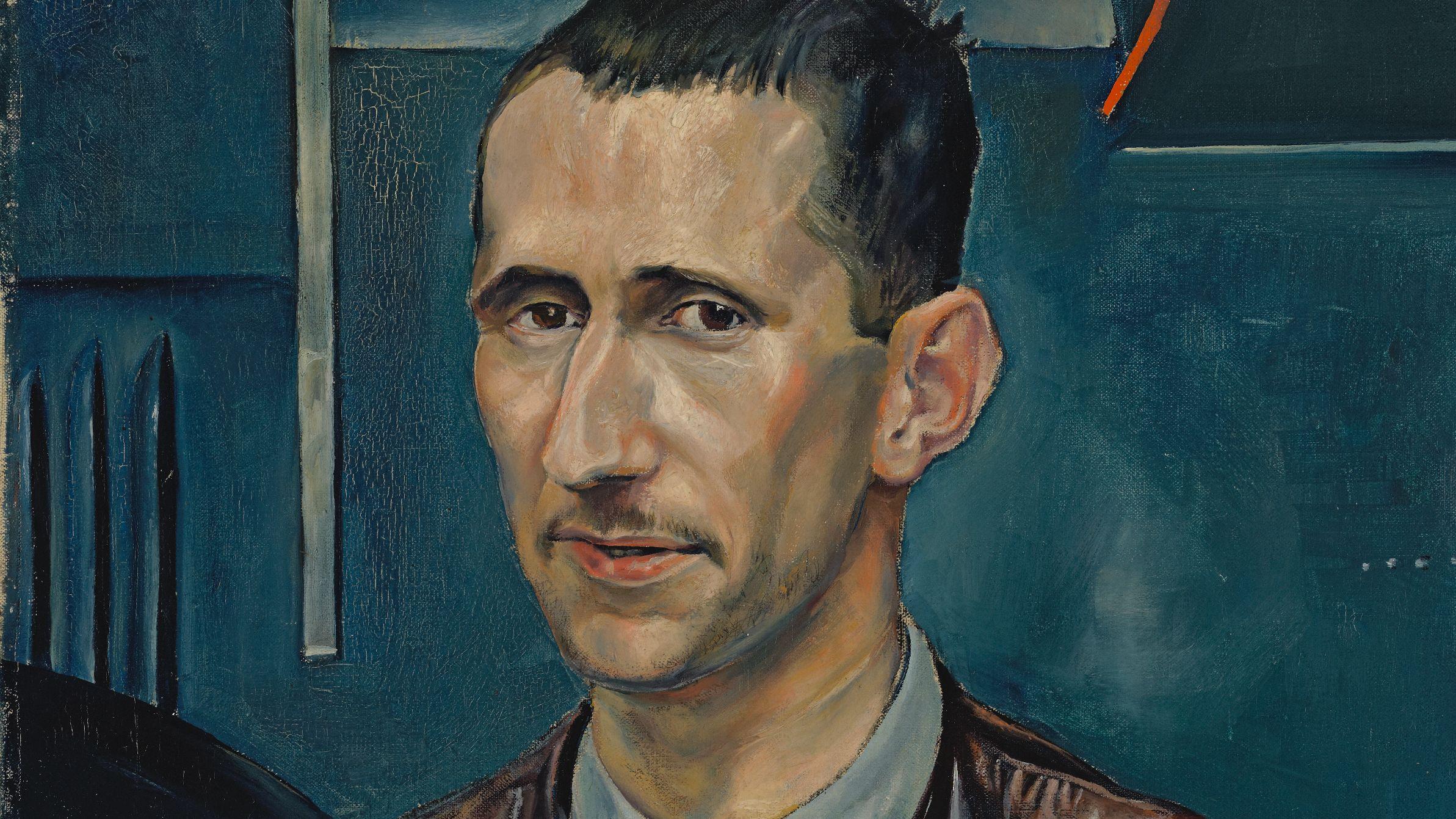 Porträt von Bertolt Brecht, um 1926