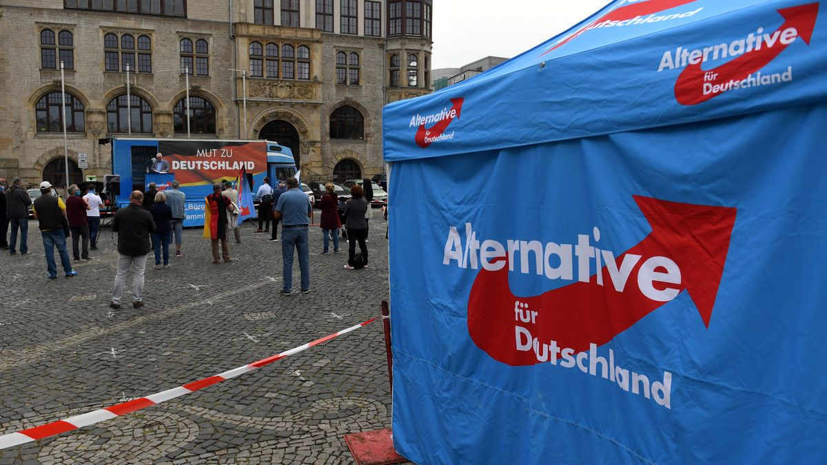 AfD-Stand