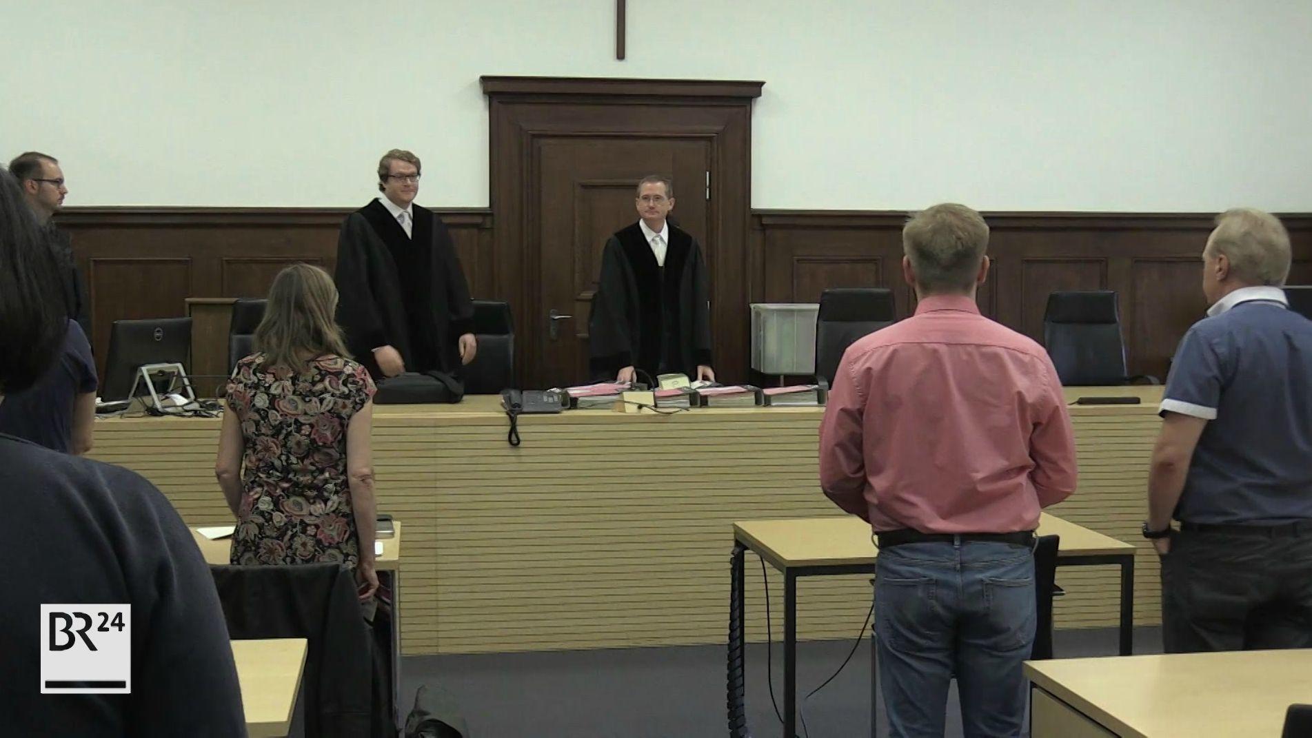 Prozessbeginn wegen 130 Kilogramm Marihuana in Nürnberg.