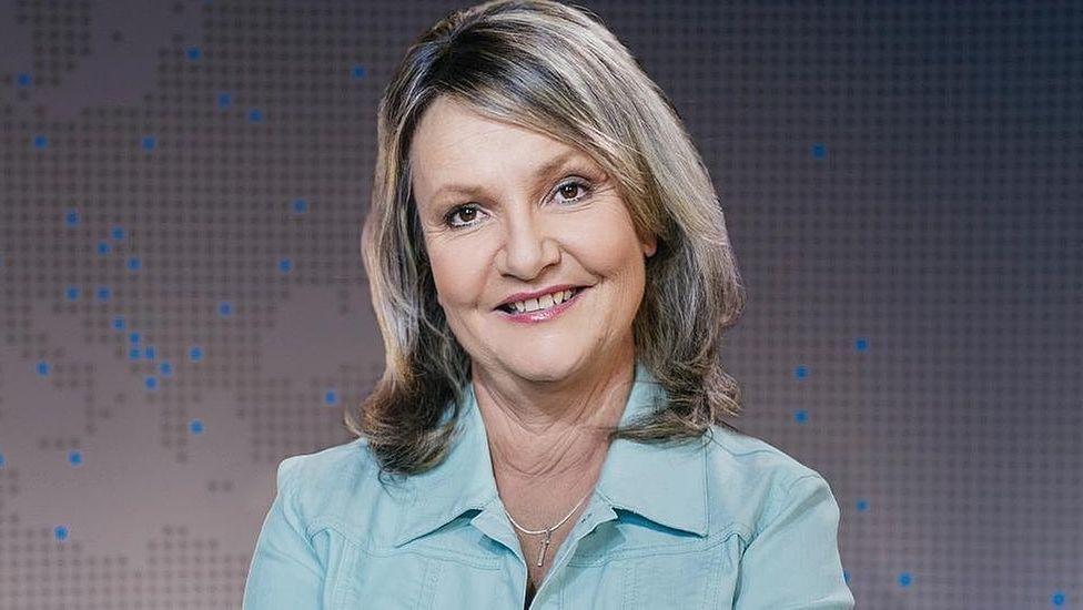 Sport in der BR24 Rundschau Moderatorin Marianne Kreuzer