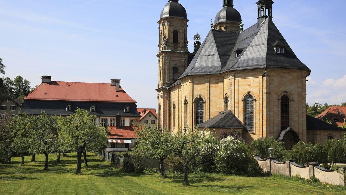 Die Wallfahrtsbasilika in Gößweinstein