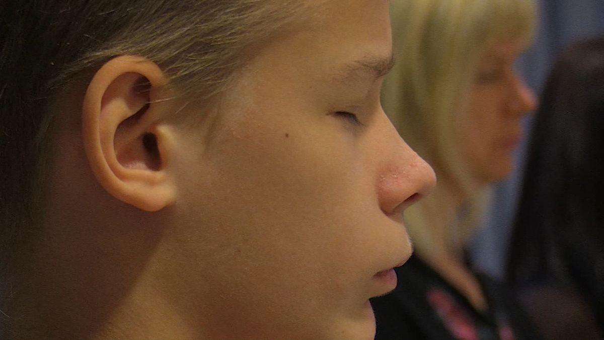Eschenbacher Schüler meditieren gegen Stress
