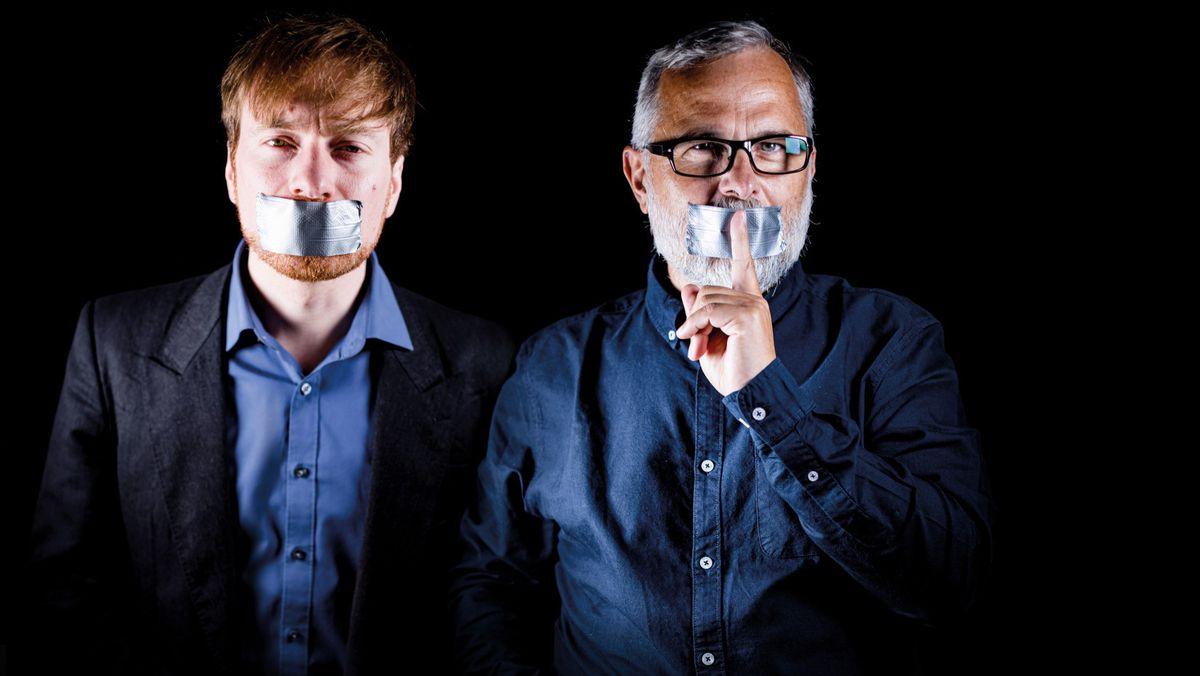 Alexander Schiebel (links) und Karl Bär - die Angeklagten in Südtirol