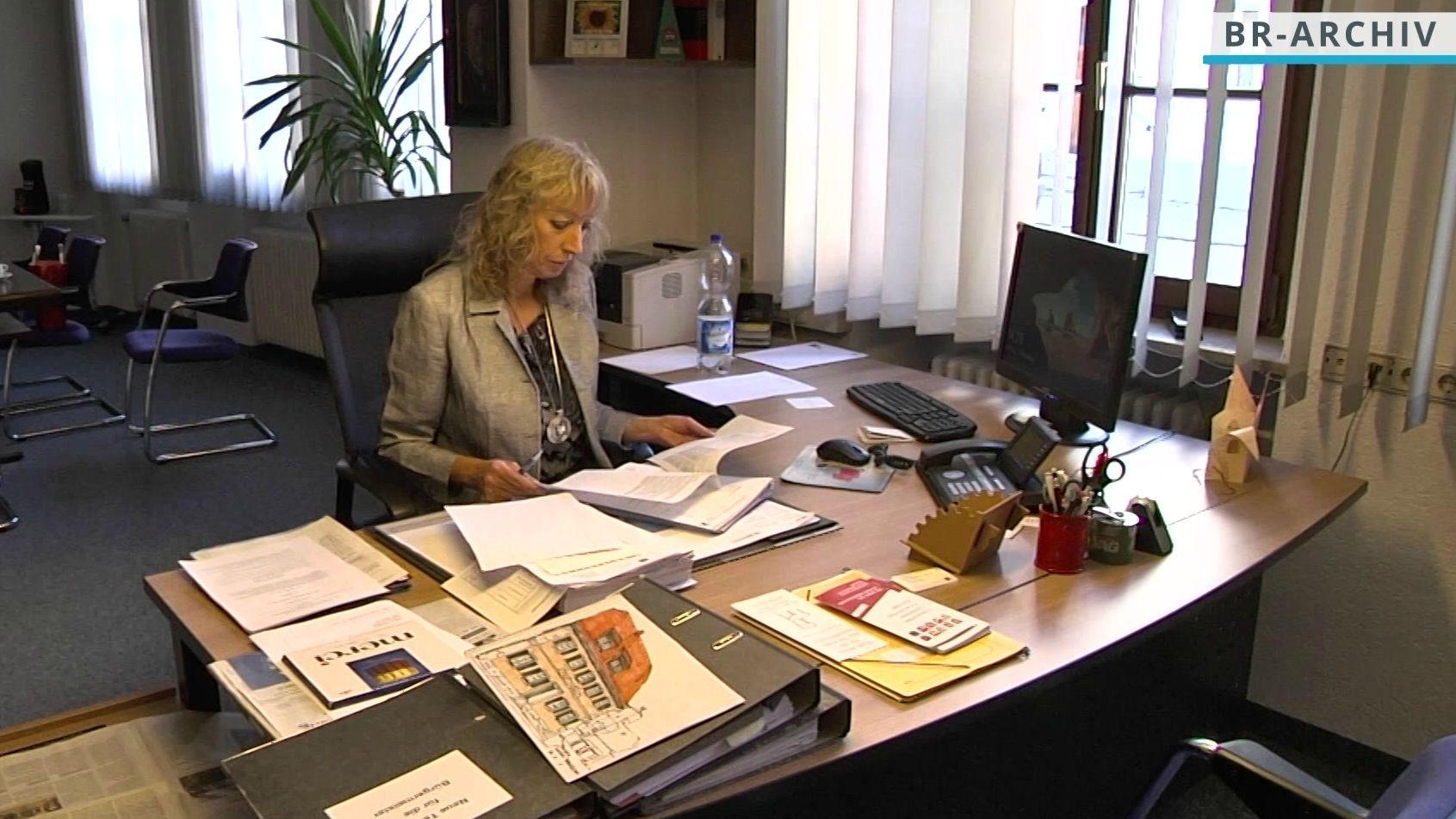 Leutershäuser Bürgermeisterin Sandra Bonnemeier.