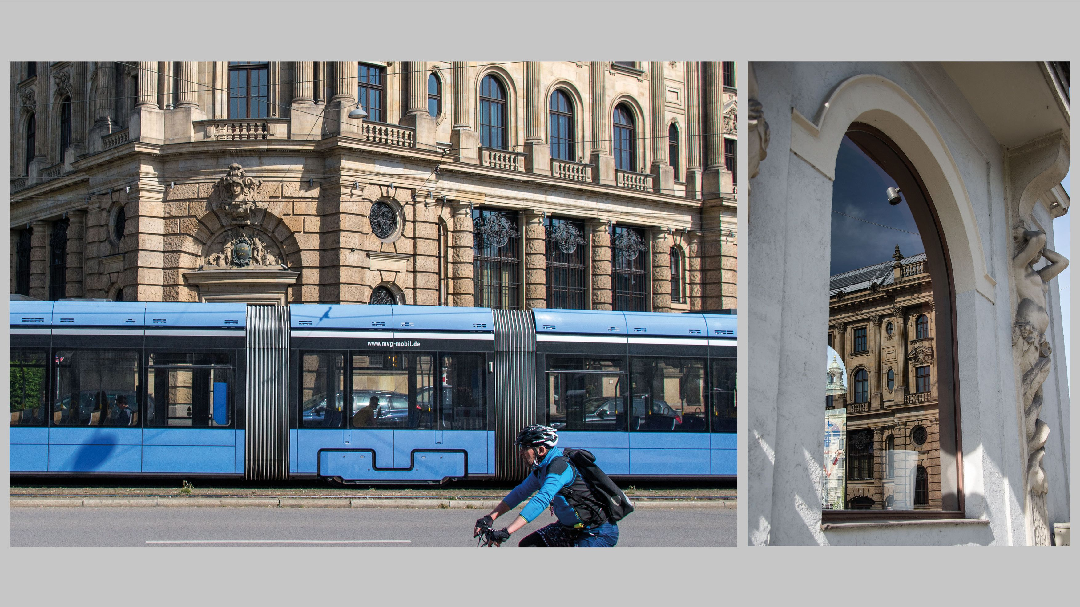 München während des Corona-Lockdowns: Fotos von Franziska von Gagern