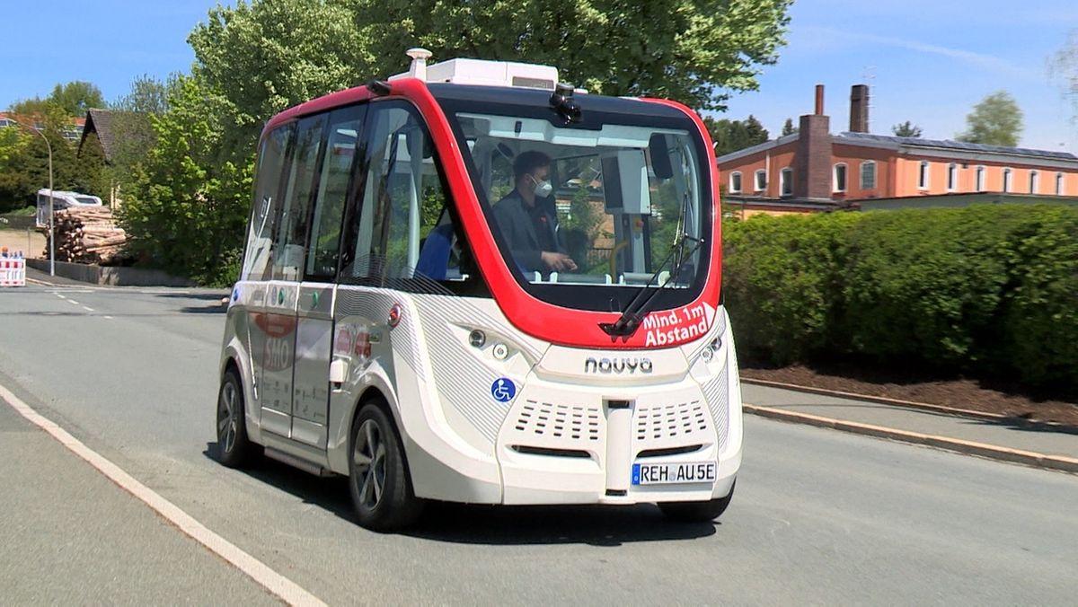 Das bundesweite Modellprojekt fahrerlose Busse in Oberfranken ist einen Schritt vorangekommen.