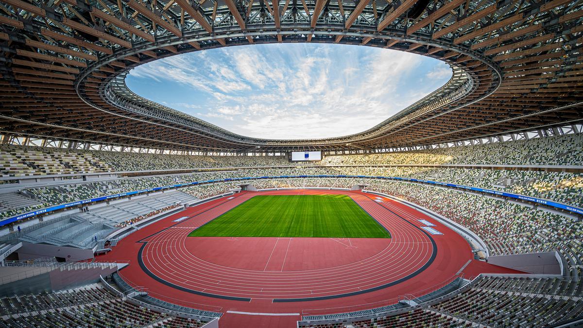 Das Nationalstadion in Tokio