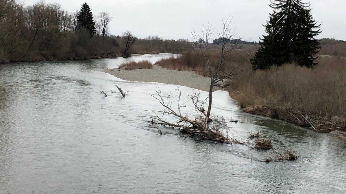 Die Iller soll in ihrem natürlichen Zustand weniger anfällig für Hochwasser sein.