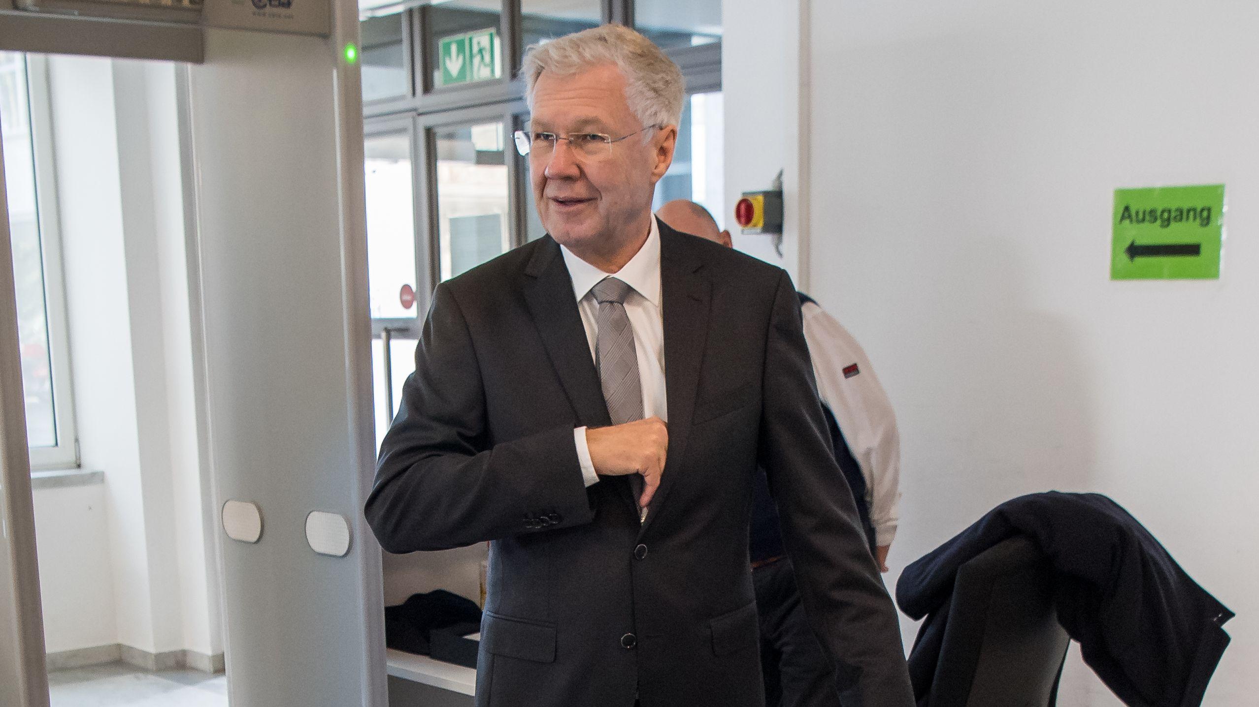 Alfred Lehmann (CSU), ehemaliger Oberbürgermeister von Ingolstadt.