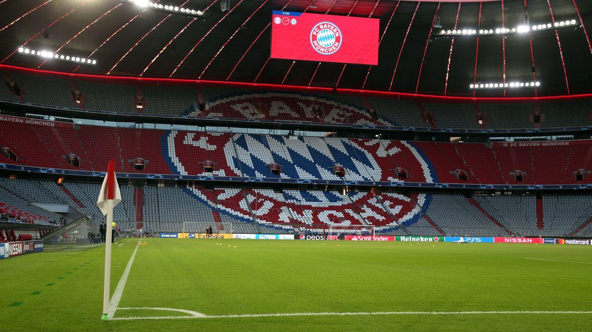 Die Münchner Allianz-Arena - noch ohne Zuschauer