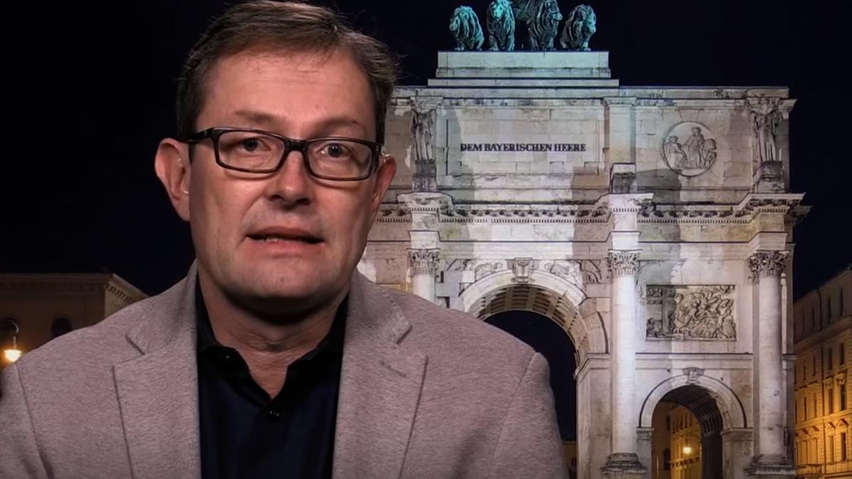 Münchener Wirtschaftsethik-Professor Christoph Lütge in der Sendung Kontrovers am 20.01.2021