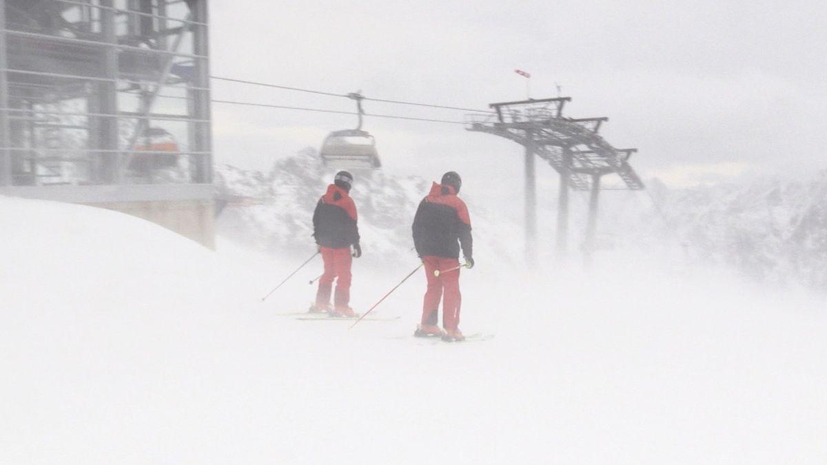 Eröffnung der Skisaison auf der Zugspitze