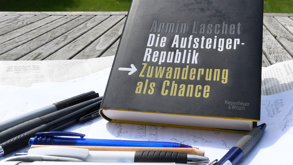 """Armin Laschets Buch """"Die Aufsteigerrepublik. Zuwanderung als Chance"""""""