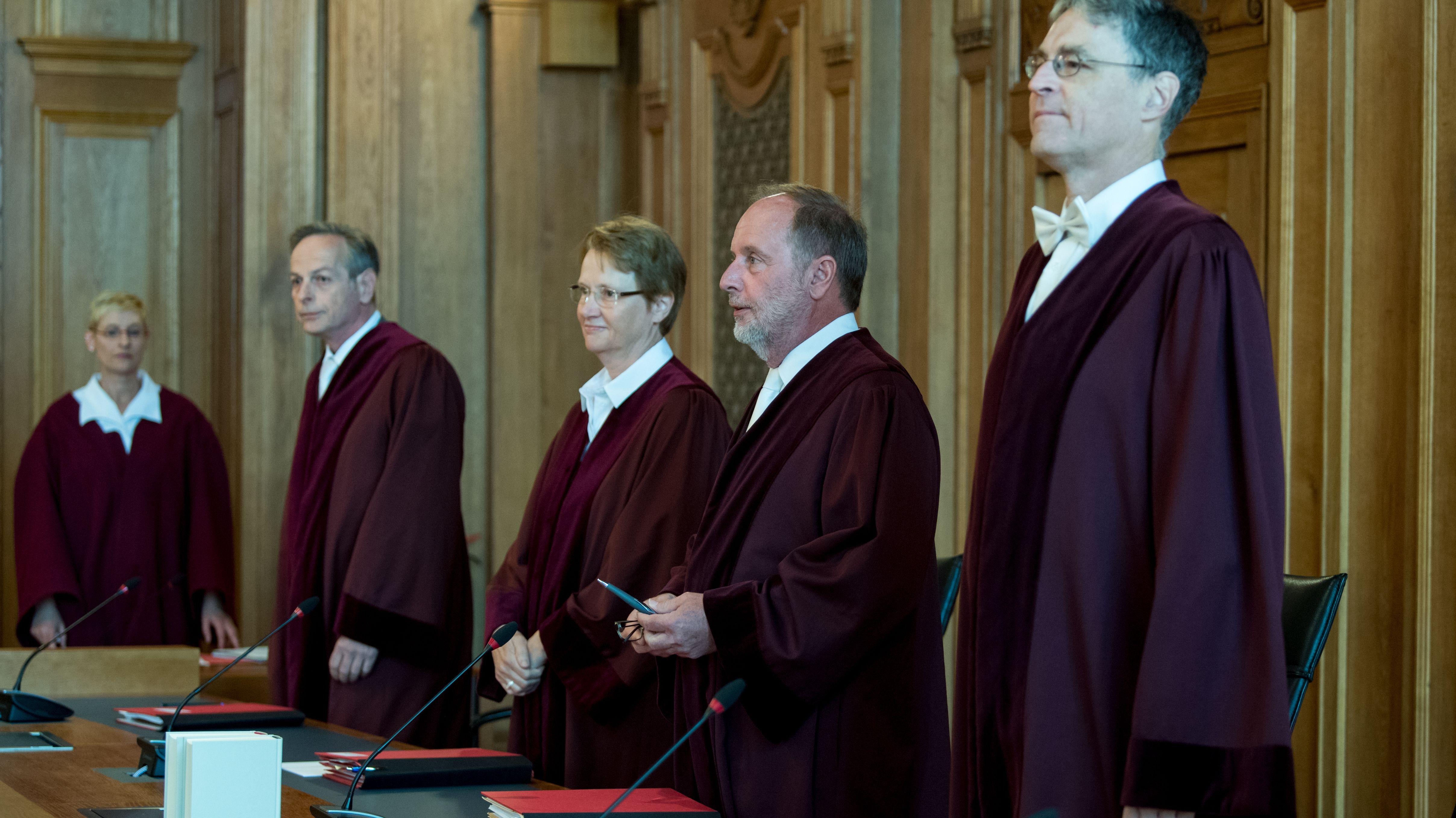 Der 5. Strafsenat des Bundesgerichtshofs unter Vorsitz von Norbert Mutzbauer