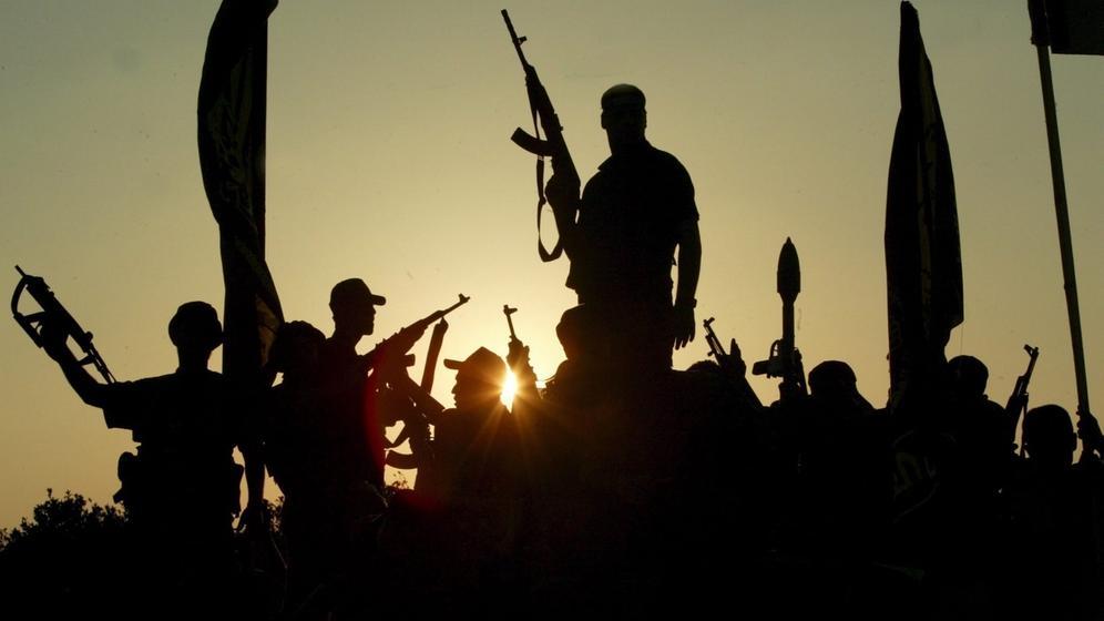 Symbolbild: Militante Dschihad-Mitglieder | Bild:picture-alliance/dpa