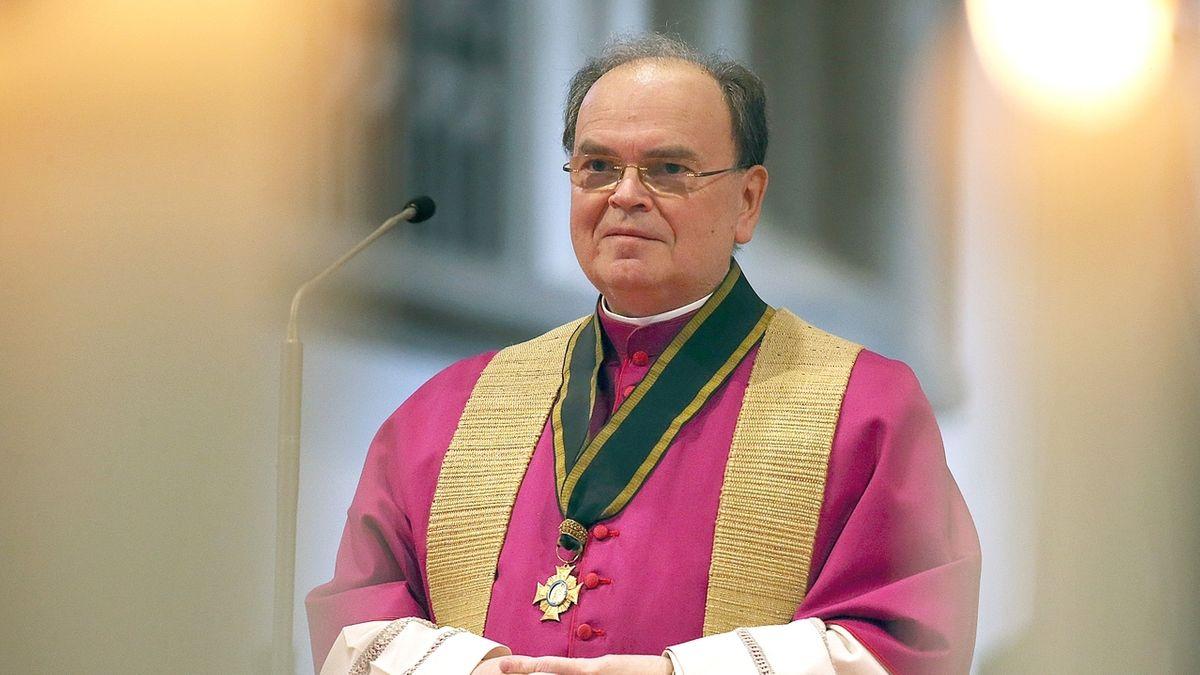 Der Augsburger Bischof Betram Meier