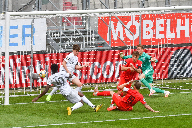 Spielszene FC Ingolstadt - FC Bayern München II
