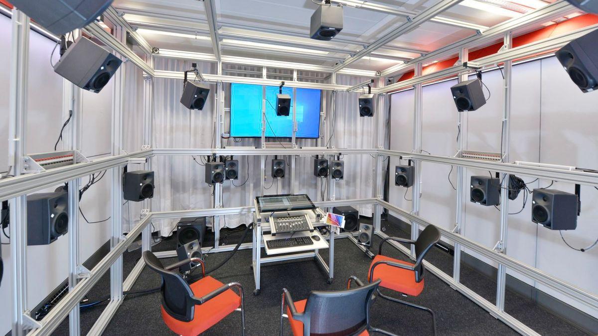 3D-Audio-Lab des Instituts für Rundfunktechnik