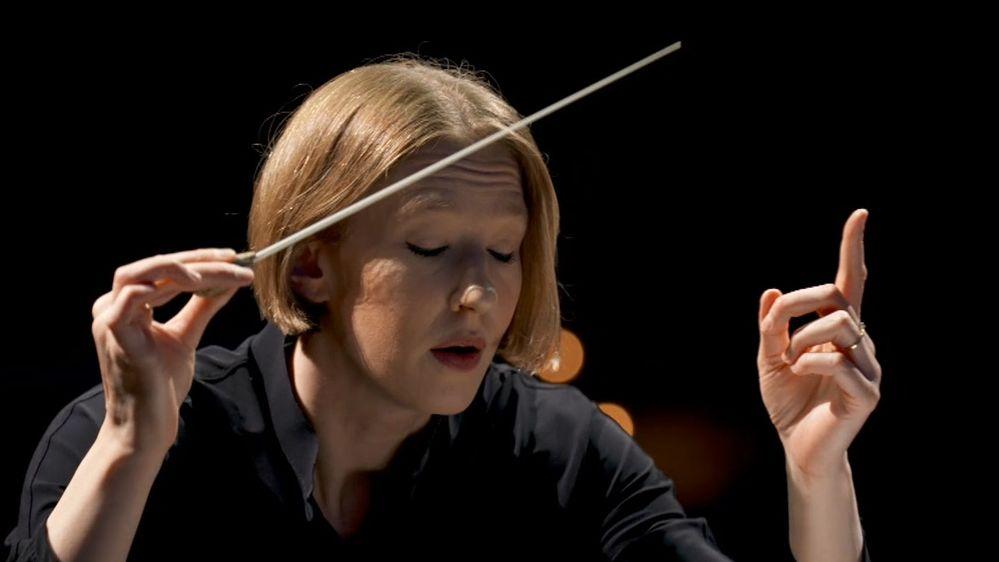 Dirigentin Joana Mallwitz im Portrait