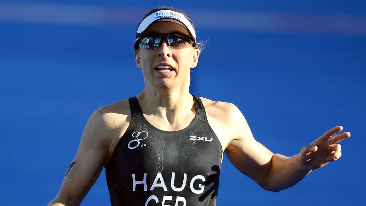 Triathletin Anne Haug