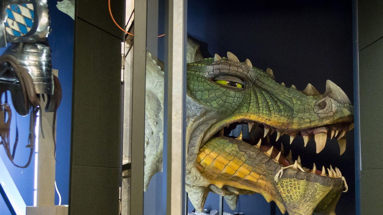 Im Museum der Bayerischen Geschichte gibt es über 1.000 Exponate zu sehen. Darunter der Further Drache...