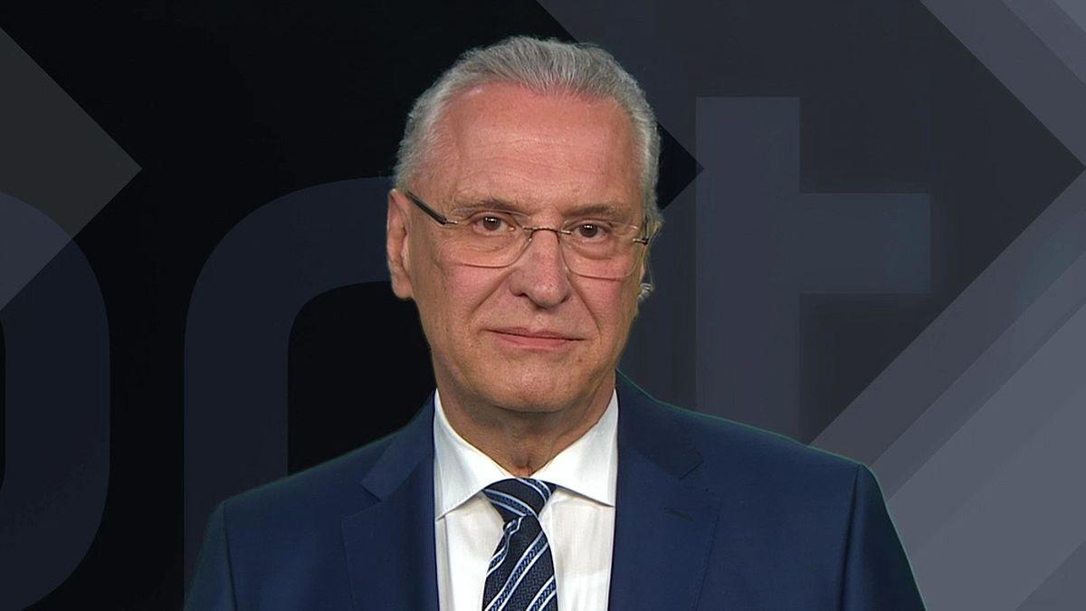 Bayerischer Innenminister Joachim Herrmann (CSU) im Kontrovers-Interview