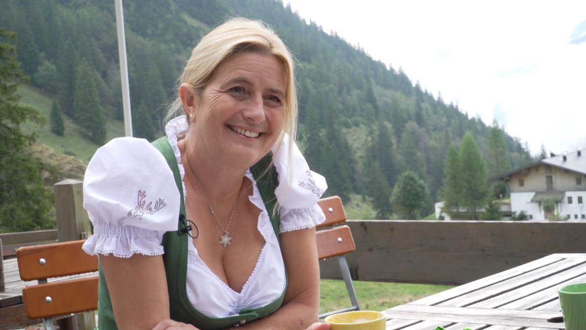 Hüttenwirtin Monika Becht