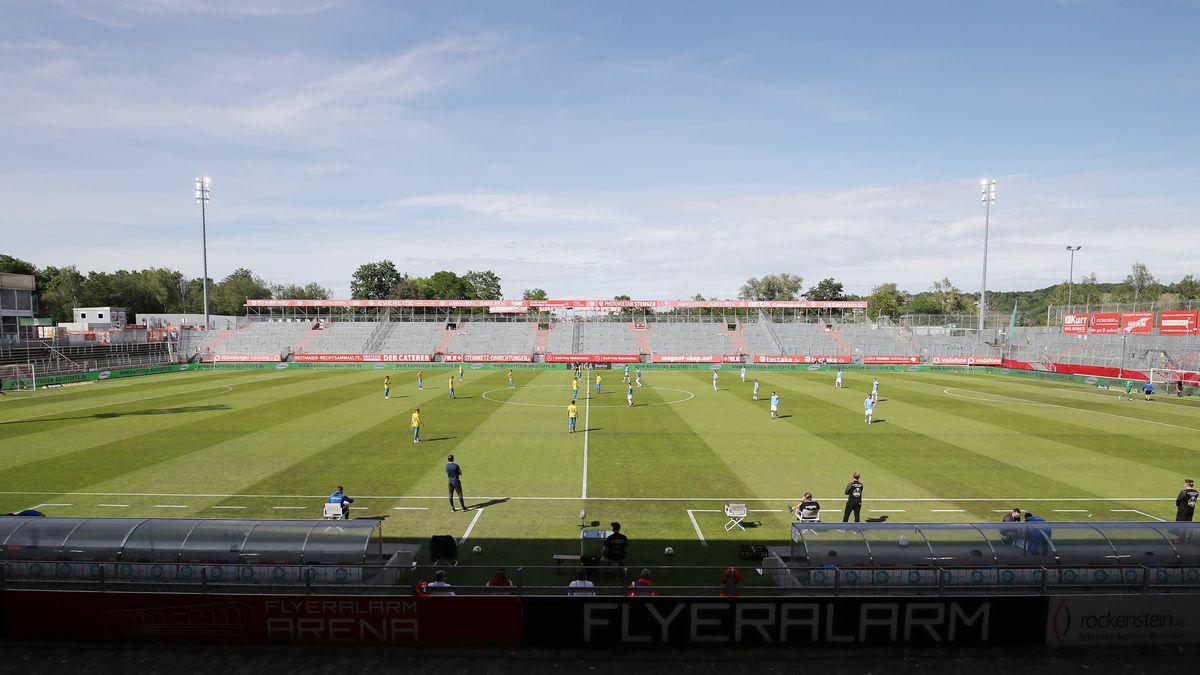 Die Arena in Würzburg - das Heimstadion von Türkgücü München?
