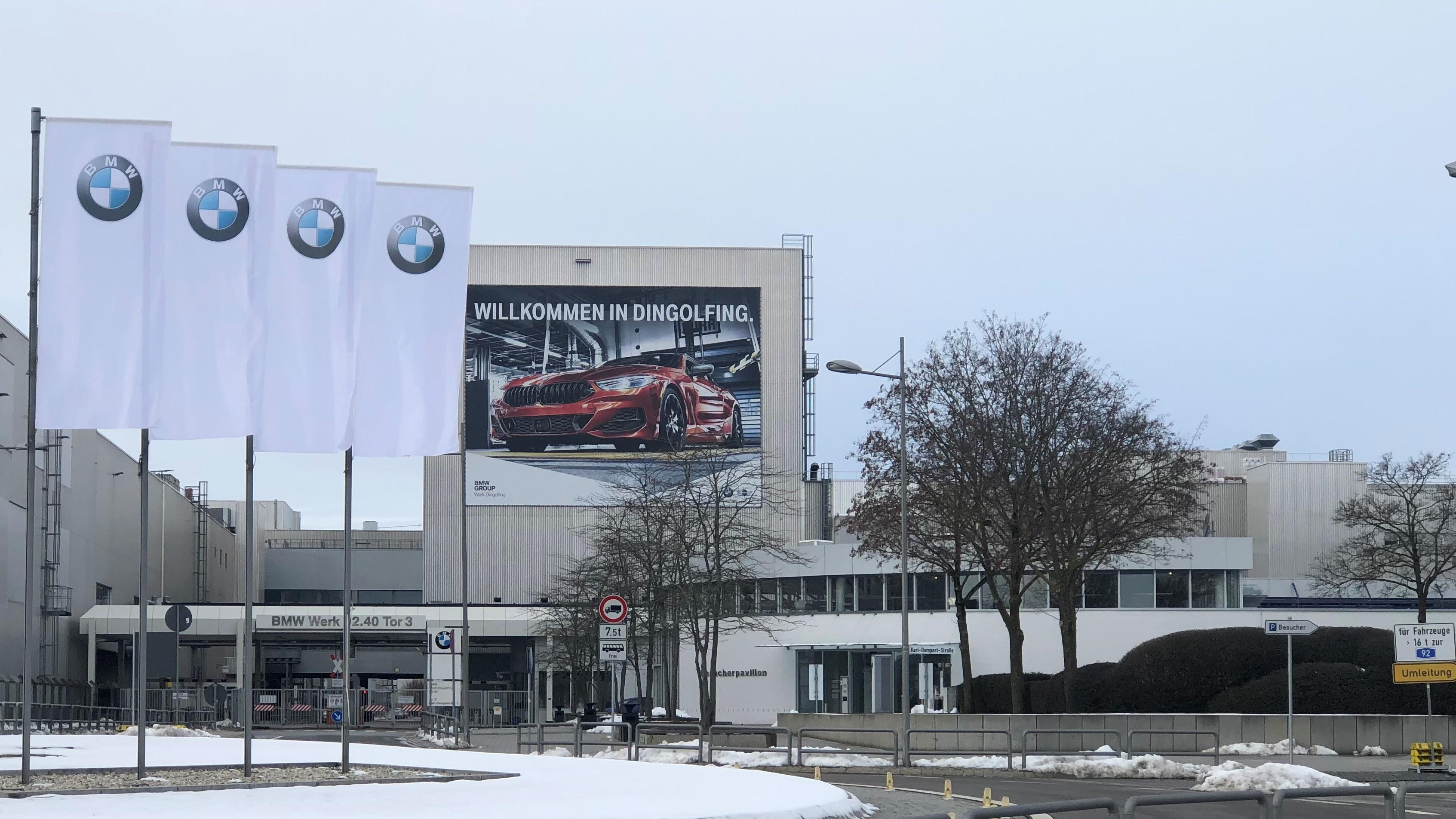 Das BMW-Werk in Dingolfing