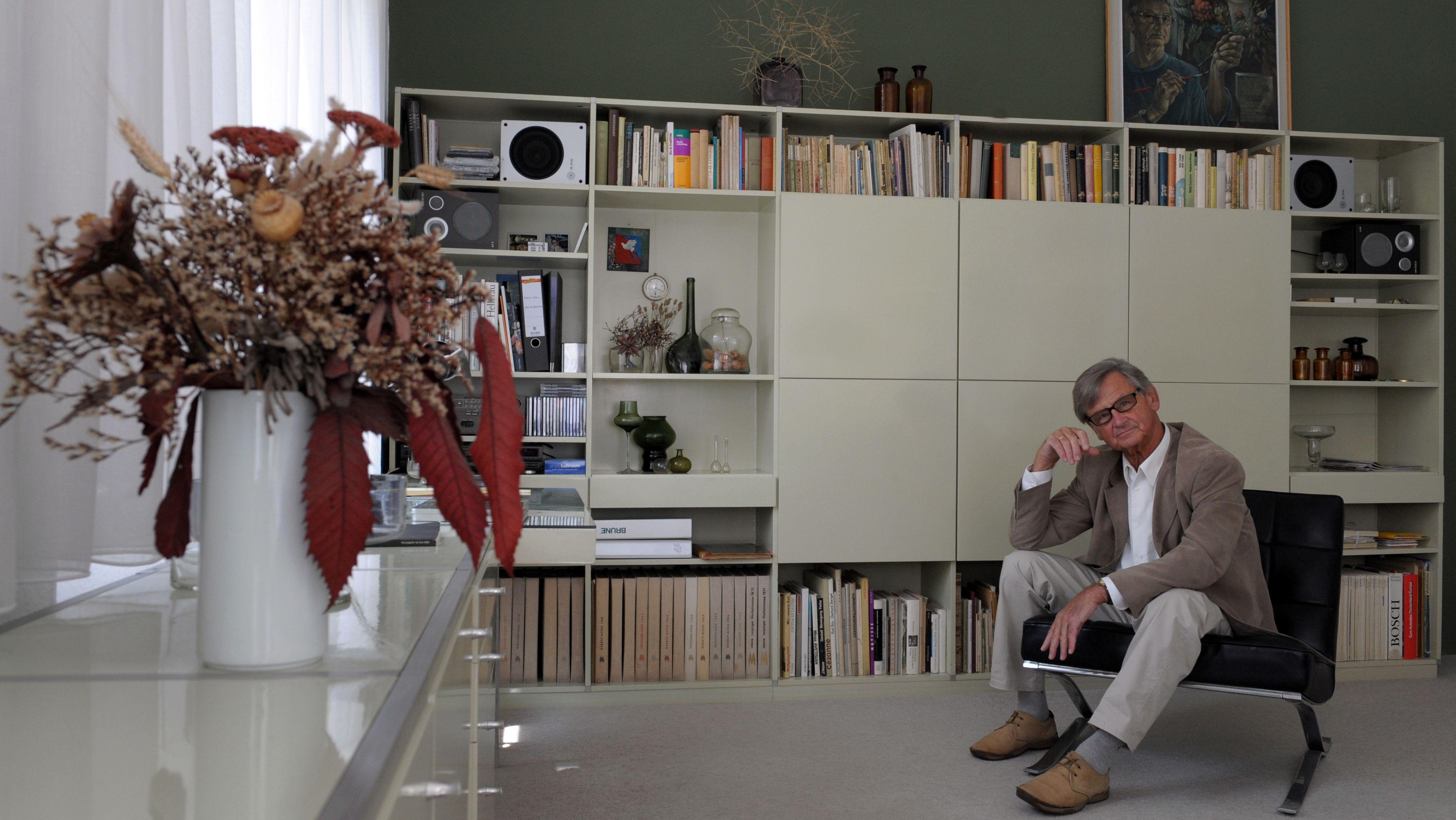 """Die legendäre MDW-Schrankwand und ihr """"Erfinder"""": der Designer Rudolf Horn"""
