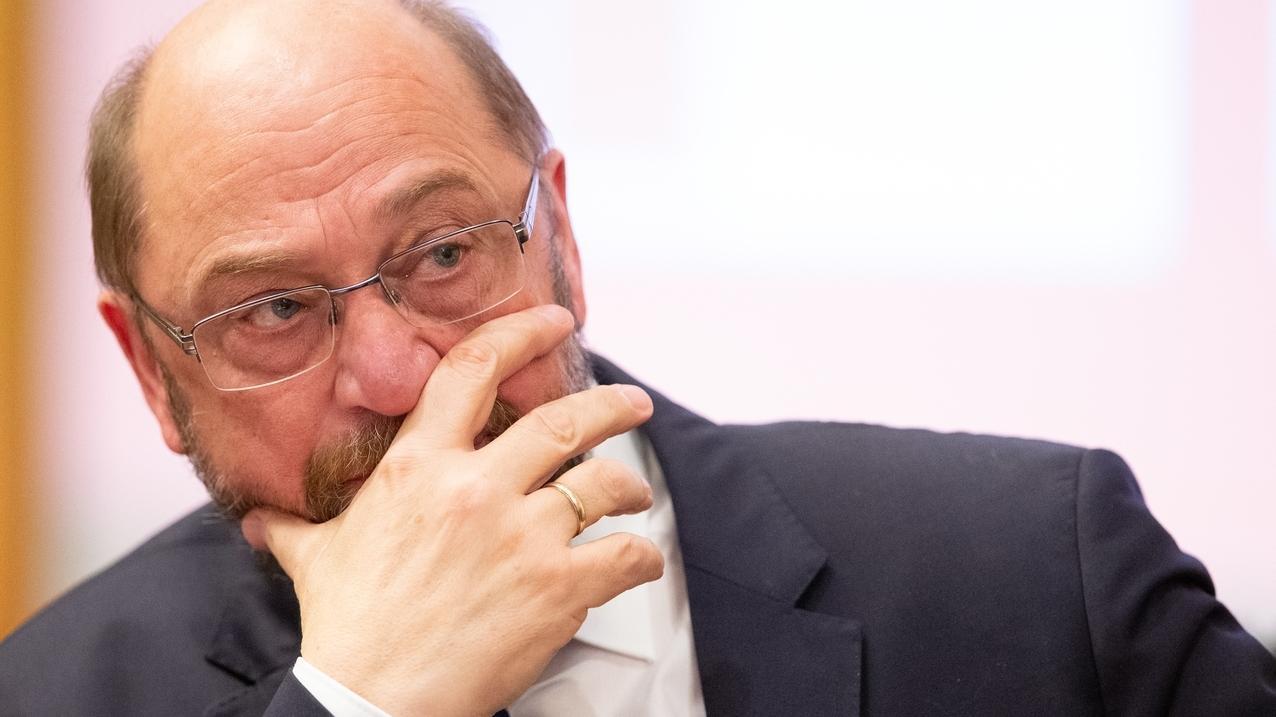 Martin Schulz (SPD), ehemaliger Präsident des Europaparlaments, will beim Brexit hart bleiben