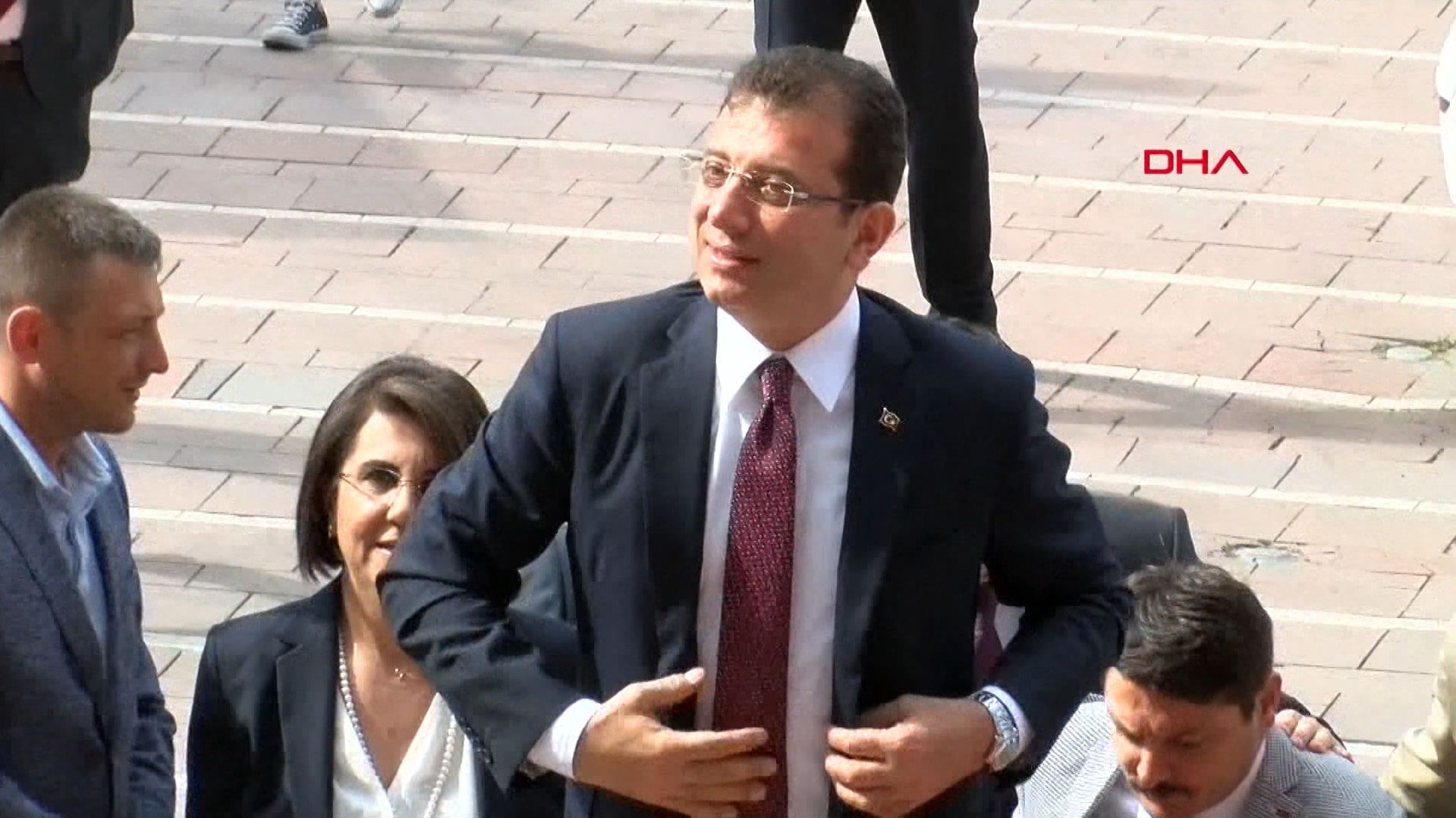 Oppositionspolitiker Imamoglu von der CHP.