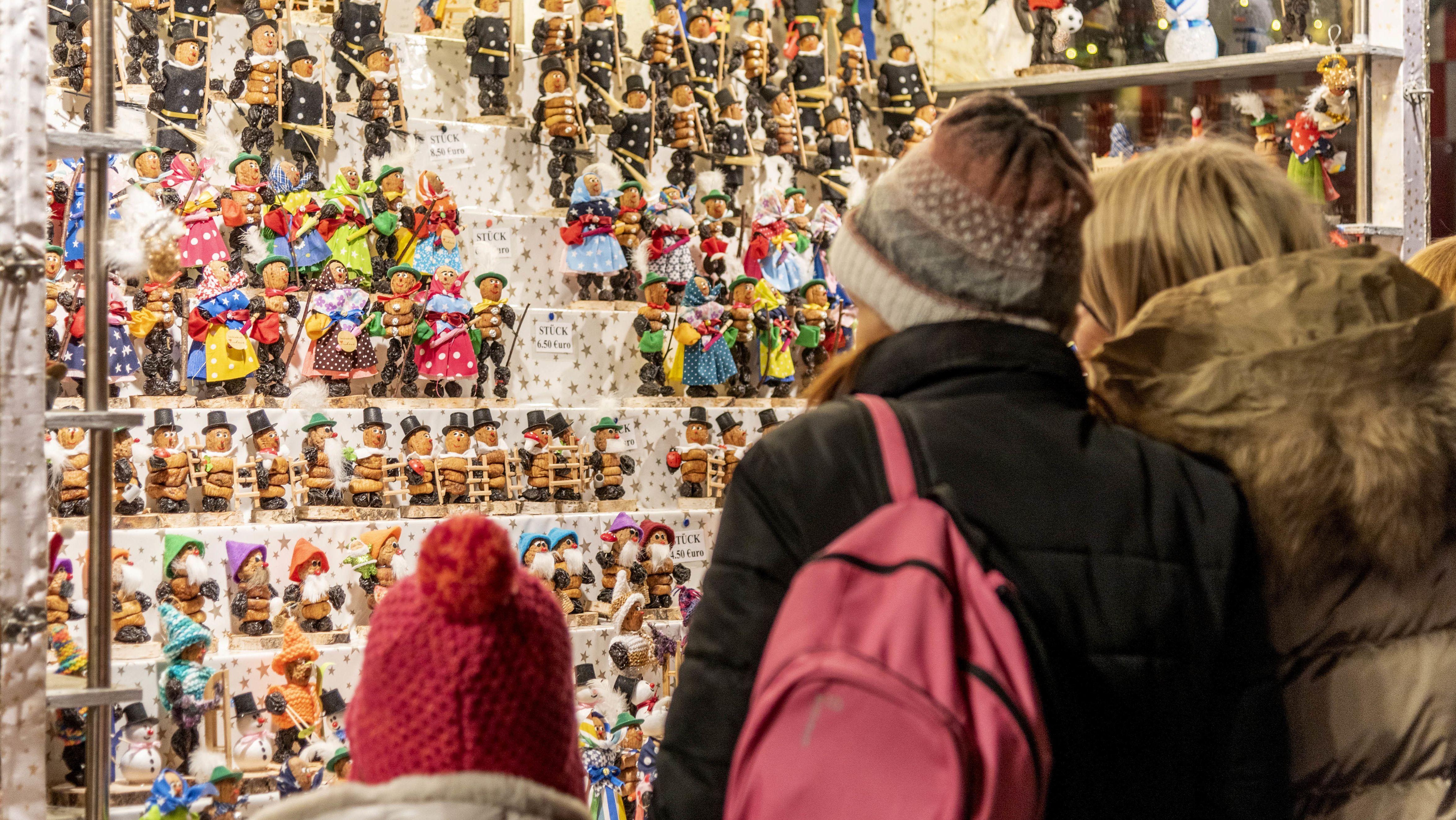 Nürnberger Christkindlesmarkt in der Altstadt