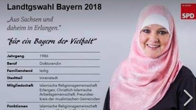 gefälschtes SPD-Wahlplakat