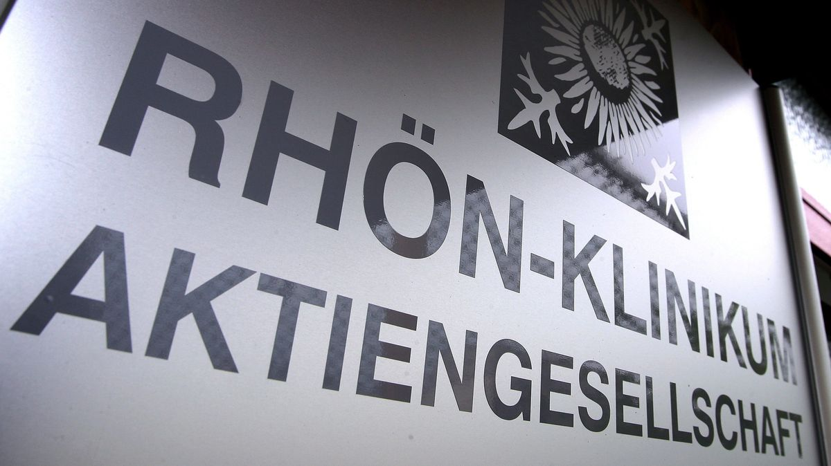 Schild der Rhön-Klinikum AG