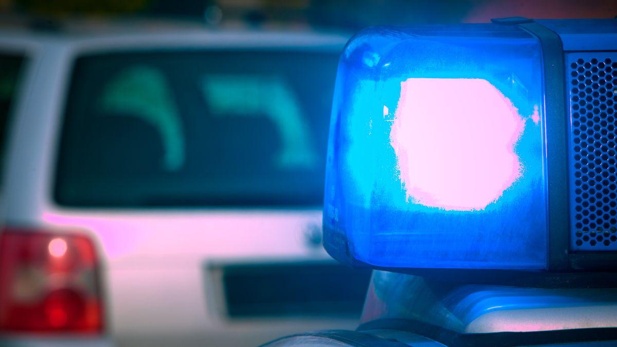 Symbolbild Polizei: Blaulicht eines Polizeifahrzeugs