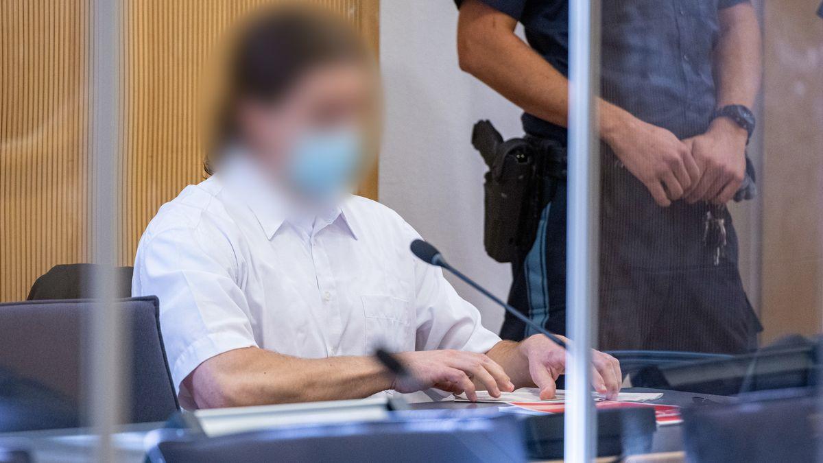 Der ehemalige Verlobte Maria Baumers am Landgericht Regensburg.