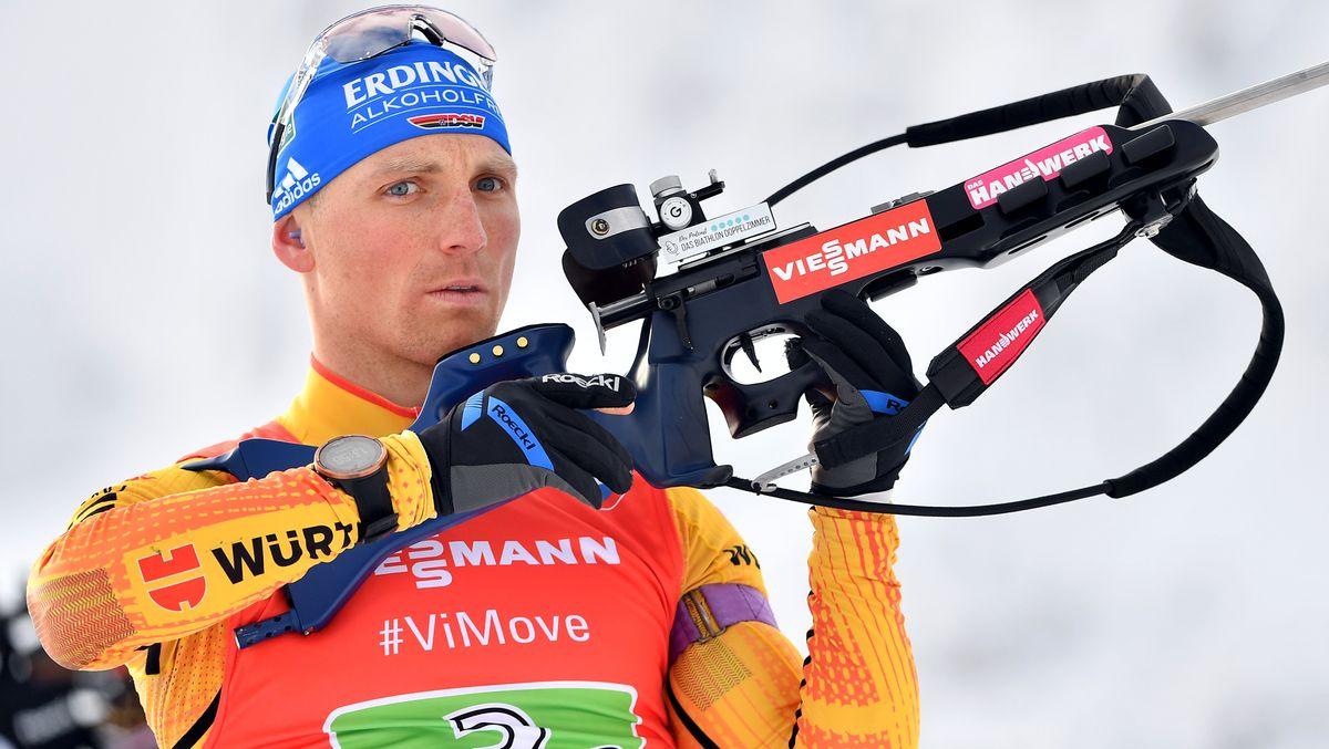 Biathlet Erik Lesser