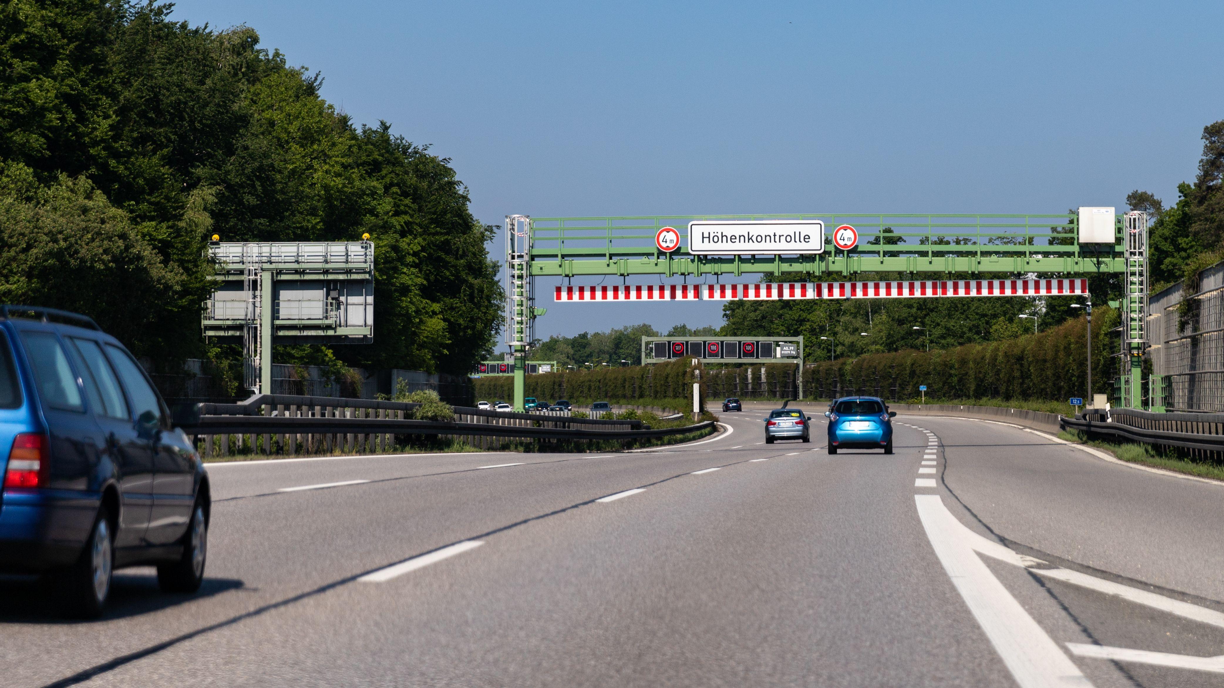 Verkehr auf einer bayerischen Autobahn (Symbolbild)